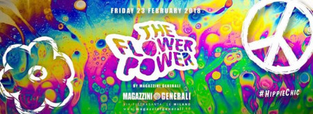 The Flower Power official Magazzini Generali Milan Fashion Week