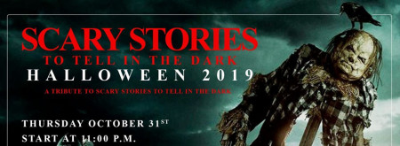 Halloween 2019 : Scary Stories to tell in the dark